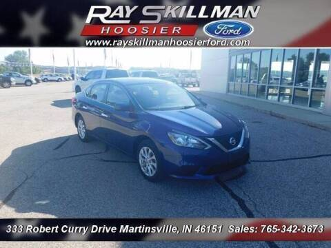 2019 Nissan Sentra for sale at Ray Skillman Hoosier Ford in Martinsville IN