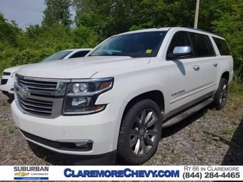2015 Chevrolet Suburban for sale at Suburban Chevrolet in Claremore OK