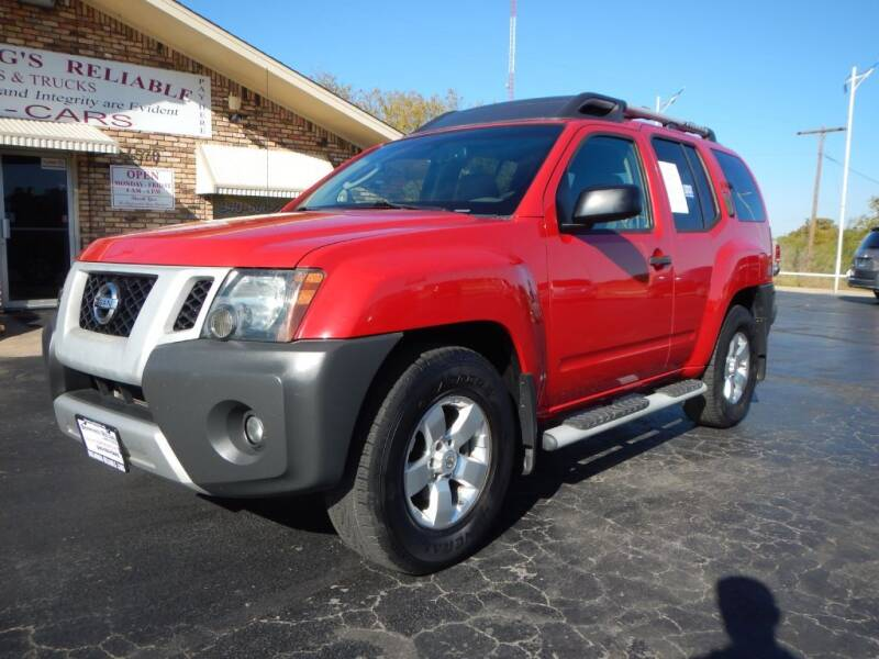 2009 Nissan Xterra for sale at Browning's Reliable Cars & Trucks in Wichita Falls TX
