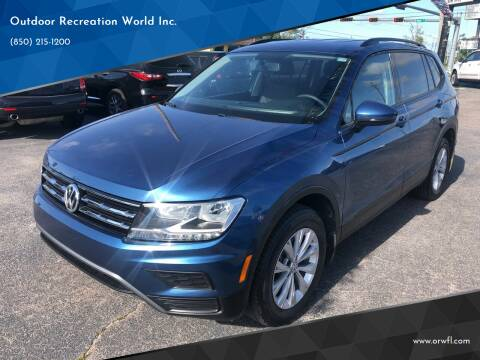 2018 Volkswagen Tiguan for sale at Outdoor Recreation World Inc. in Panama City FL