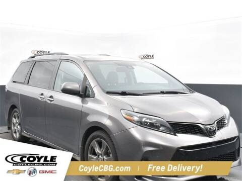 2020 Toyota Sienna for sale at COYLE GM - COYLE NISSAN - New Inventory in Clarksville IN
