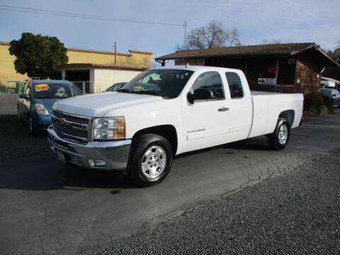 2012 Chevrolet Silverado 1500 for sale at Manzanita Car Sales in Gridley CA