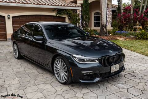 2019 BMW 7 Series for sale at Premier Auto Group of South Florida in Wellington FL