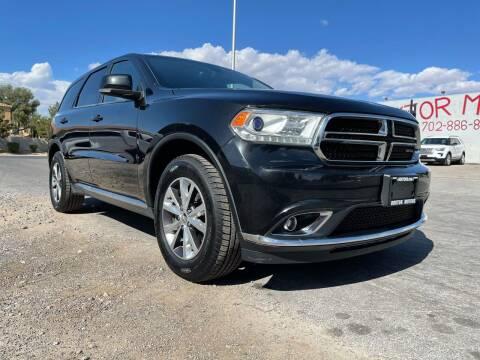 2016 Dodge Durango for sale at Boktor Motors in Las Vegas NV