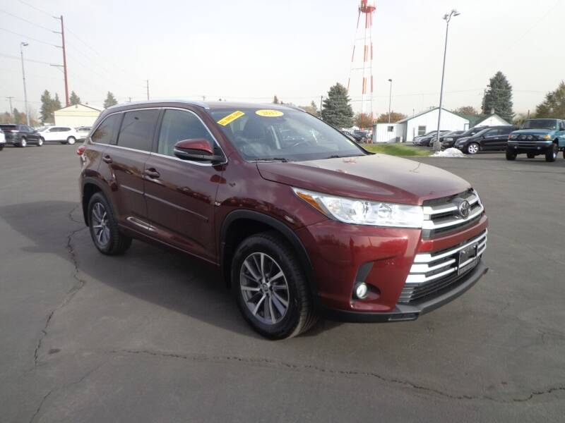 2017 Toyota Highlander for sale at New Deal Used Cars in Spokane Valley WA