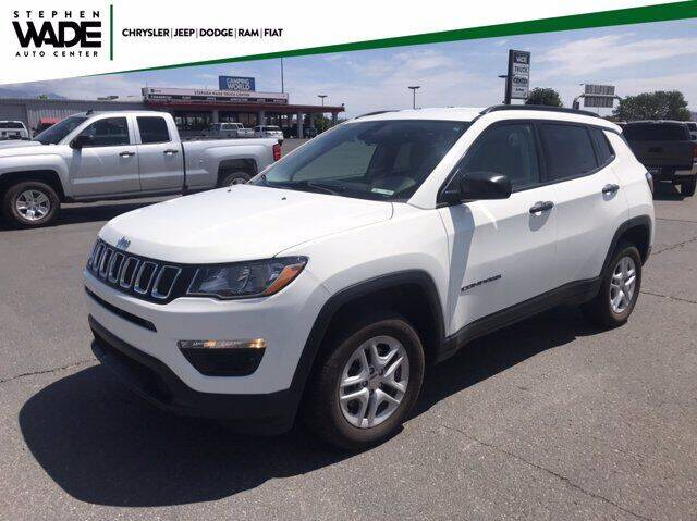 2018 Jeep Compass for sale at Stephen Wade Pre-Owned Supercenter in Saint George UT