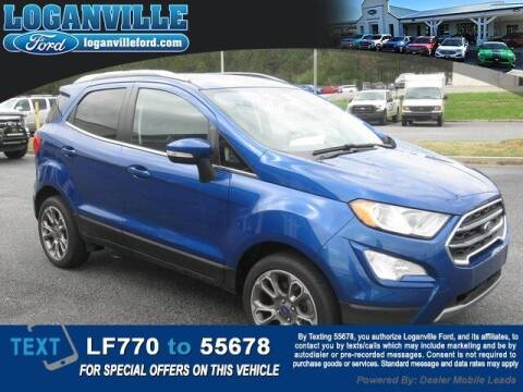 2018 Ford EcoSport for sale at Loganville Quick Lane and Tire Center in Loganville GA
