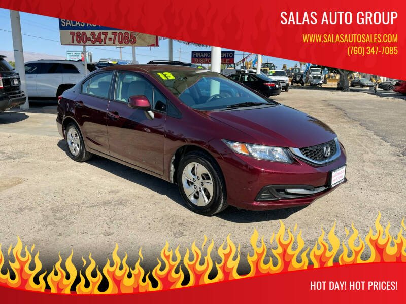 2013 Honda Civic for sale at Salas Auto Group in Indio CA