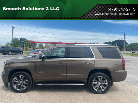2015 Chevrolet Tahoe for sale at Smooth Solutions 2 LLC in Springdale AR