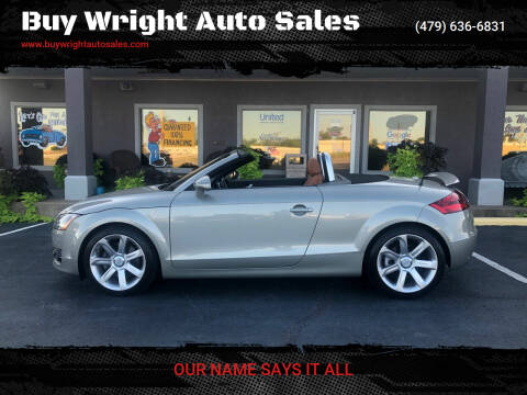 2008 Audi TT for sale at Buy Wright Auto Sales in Rogers AR