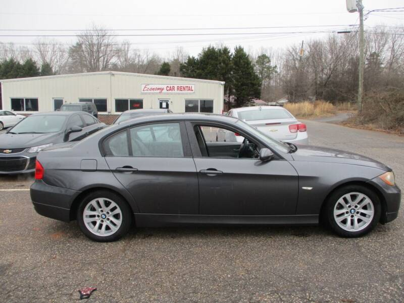 2007 BMW 3 Series for sale at Hickory Wholesale Cars Inc in Newton NC