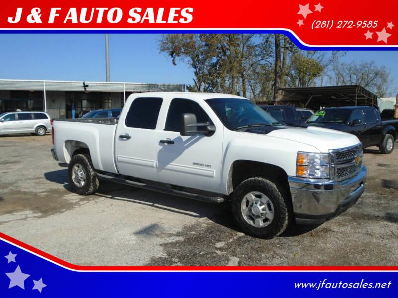 2012 Chevrolet Silverado 2500HD for sale at J & F AUTO SALES in Houston TX