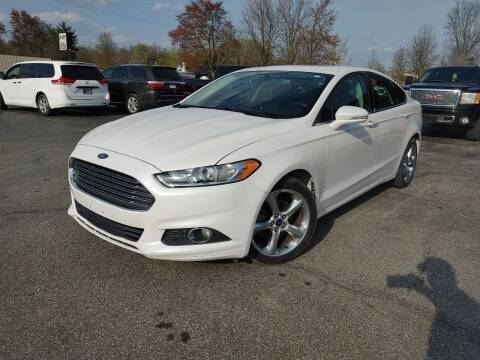 2013 Ford Fusion for sale at Cruisin' Auto Sales in Madison IN