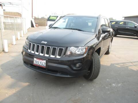 2016 Jeep Compass for sale at Quick Auto Sales in Modesto CA