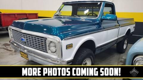 1971 Chevrolet Silverado 1500 for sale at UNIQUE SPECIALTY & CLASSICS in Mankato MN