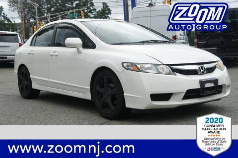 2009 Honda Civic for sale at Zoom Auto Group in Parsippany NJ