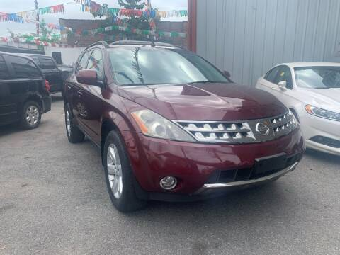 2007 Nissan Murano for sale at Gallery Auto Sales in Bronx NY
