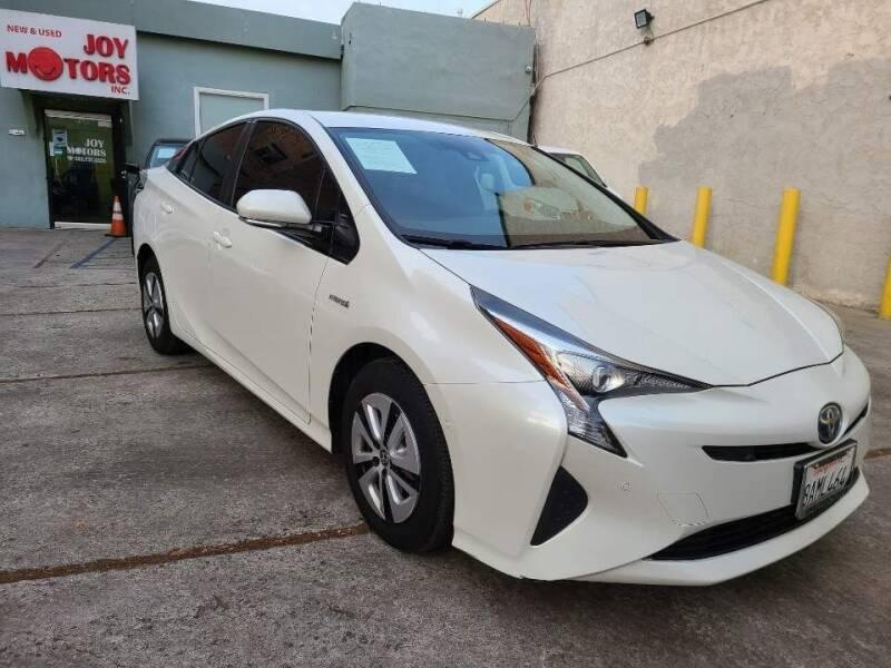 2017 Toyota Prius for sale at Joy Motors in Los Angeles CA