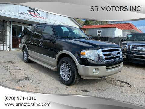 2010 Ford Expedition EL for sale at SR Motors Inc in Gainesville GA
