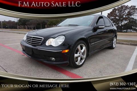 2006 Mercedes-Benz C-Class for sale at F.M Auto Sale LLC in Dallas TX