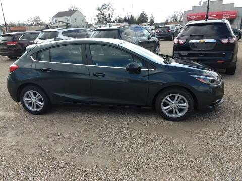2017 Chevrolet Cruze for sale at Economy Motors in Muncie IN