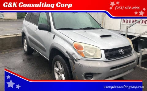 2004 Toyota RAV4 for sale at G&K Consulting Corp in Fair Lawn NJ