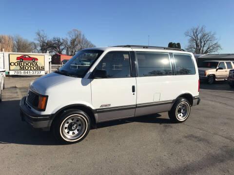 1991 Chevrolet Astro for sale at Cordova Motors in Lawrence KS