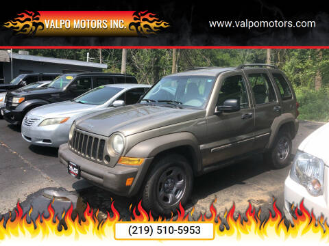 2007 Jeep Liberty for sale at Valpo Motors Inc. in Valparaiso IN