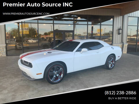 2014 Dodge Challenger for sale at Premier Auto Source INC in Terre Haute IN