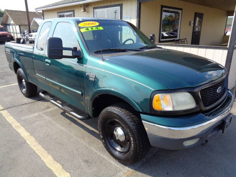 2000 Ford F-150 for sale at BBL Auto Sales in Yakima WA