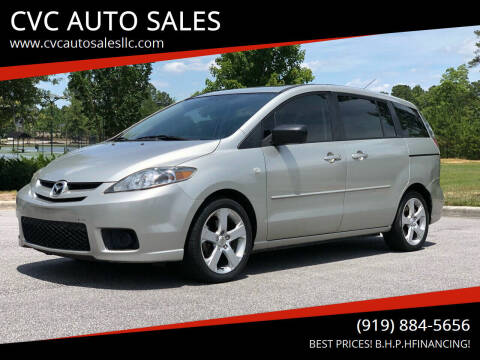 2006 Mazda MAZDA5 for sale at CVC AUTO SALES in Durham NC