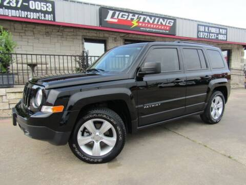 2015 Jeep Patriot for sale at Lightning Motorsports in Grand Prairie TX