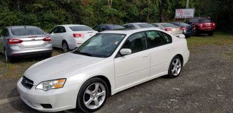 2007 Subaru Legacy for sale at B & B GARAGE LLC in Catskill NY