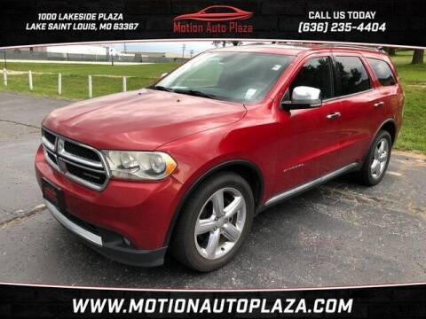 2011 Dodge Durango for sale at Motion Auto Plaza in Lakeside MO