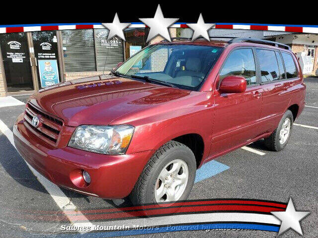 2004 Toyota Highlander for sale at Michael D Stout in Cumming GA