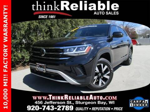 2020 Volkswagen Atlas Cross Sport for sale at RELIABLE AUTOMOBILE SALES, INC in Sturgeon Bay WI
