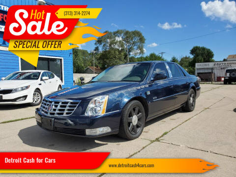 2006 Cadillac DTS for sale at Detroit Cash for Cars in Warren MI