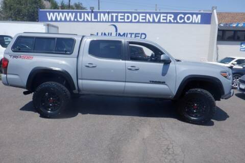 2019 Toyota Tacoma for sale at Unlimited Auto Sales in Denver CO