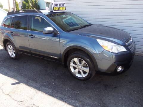 2013 Subaru Outback for sale at Fulmer Auto Cycle Sales - Fulmer Auto Sales in Easton PA