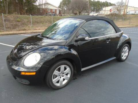 2007 Volkswagen New Beetle Convertible for sale at Atlanta Auto Max in Norcross GA