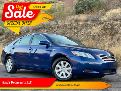 2007 Toyota Camry Hybrid for sale at Baba's Motorsports, LLC in Phoenix AZ