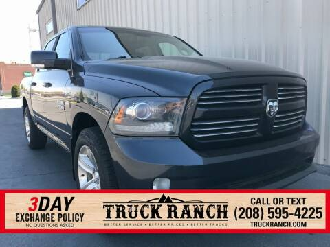 2014 RAM Ram Pickup 1500 for sale at Truck Ranch in Twin Falls ID