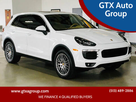 2016 Porsche Cayenne for sale at GTX Auto Group in West Chester OH
