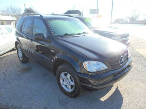 2000 Mercedes-Benz M-Class for sale at Car Credit Auto Sales in Terre Haute IN