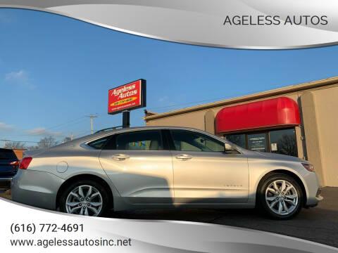 2017 Chevrolet Impala for sale at Ageless Autos in Zeeland MI