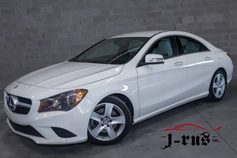 2016 Mercedes-Benz CLA for sale at J-Rus Inc. in Macomb MI