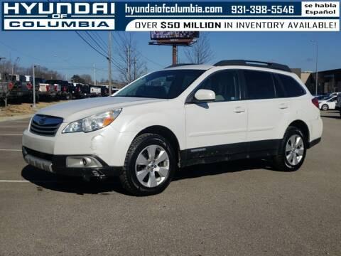 2012 Subaru Outback for sale at Hyundai of Columbia Con Alvaro in Columbia TN