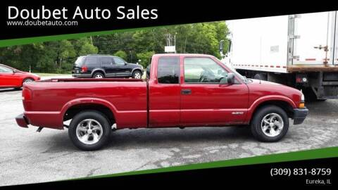 2002 Chevrolet S-10 for sale at Doubet Auto Sales in Eureka IL