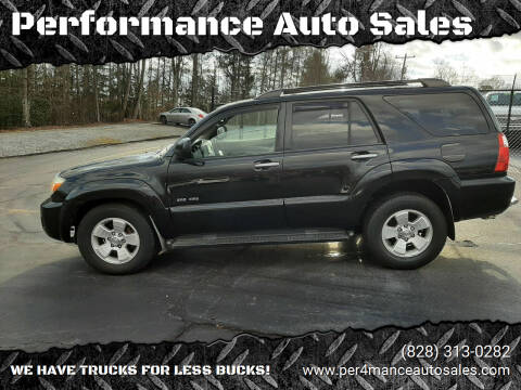 2007 Toyota 4Runner for sale at Performance Auto Sales in Hickory NC