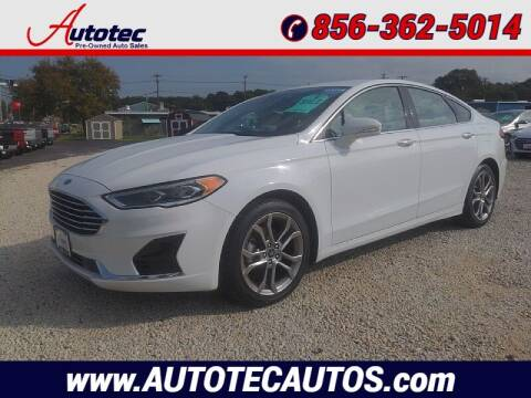 2019 Ford Fusion for sale at Autotec Auto Sales in Vineland NJ
